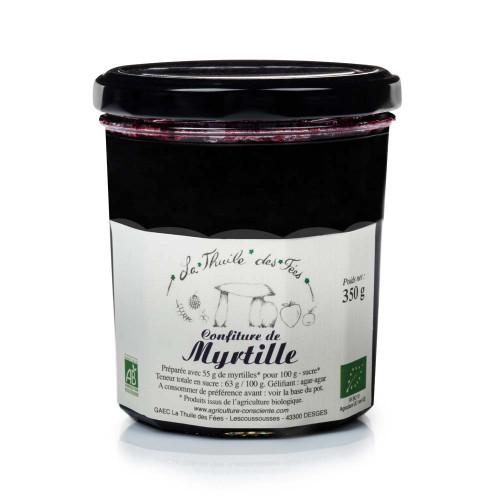 Confiture myrtille 320 g