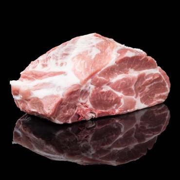 Rôti porc échine avec os