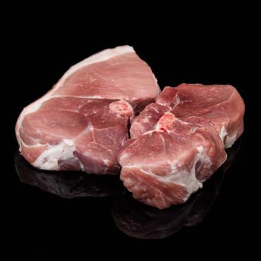 Rôti porc épaule avec os